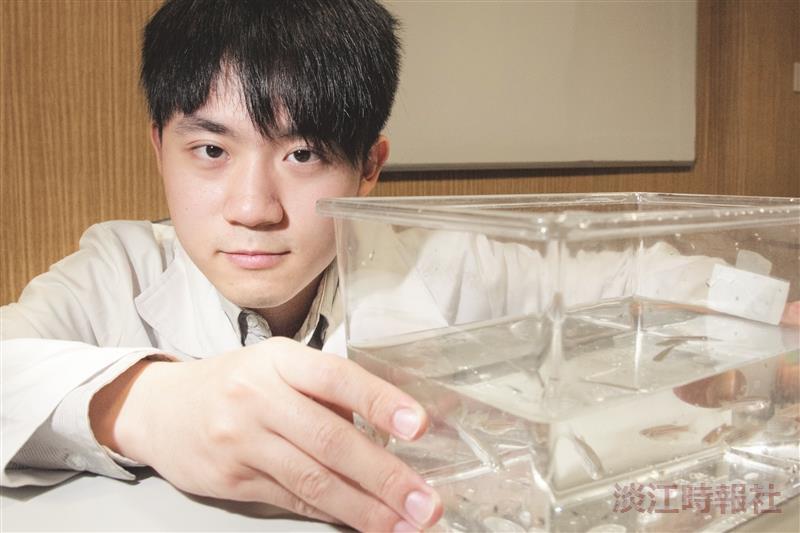 化學生林子淯斑馬魚研究獲壁報論文獎