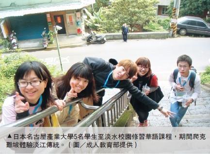 日本名古屋產業大學5生 來校習華語
