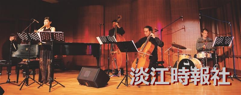 文錙漾木笛 聽見跨界爵士五重奏