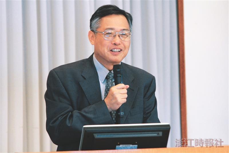 專題報告:進一步提升本校國際聲的芻見 國際事務副校長戴萬欽