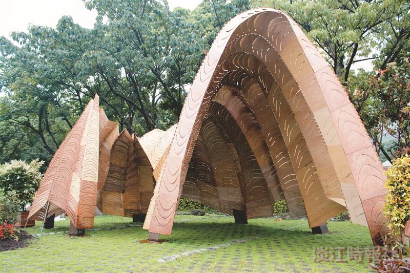 建築系10人參展綠博會
