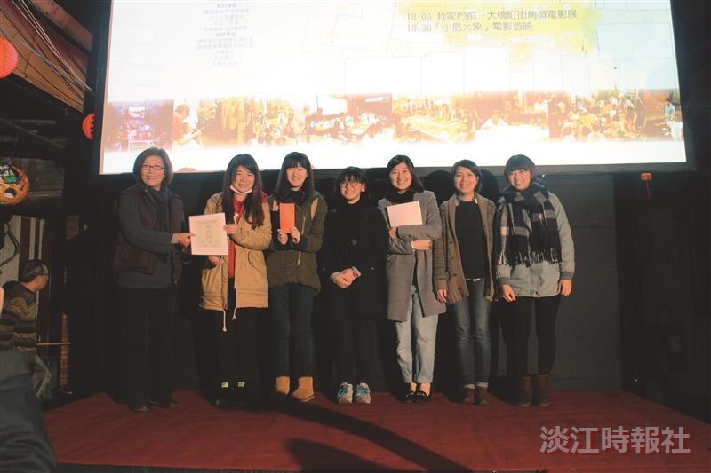 大傳6生獲北市微電影首獎