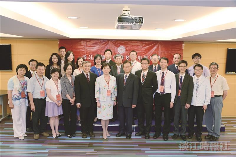 本校與香港13中學結盟