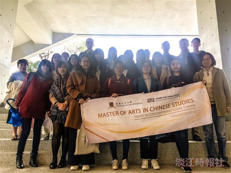 香港中文大學澳門聖保祿 蒞校交流兩岸現況