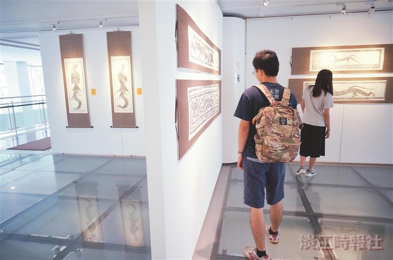 漢之魂展淮海漢畫像石拓片