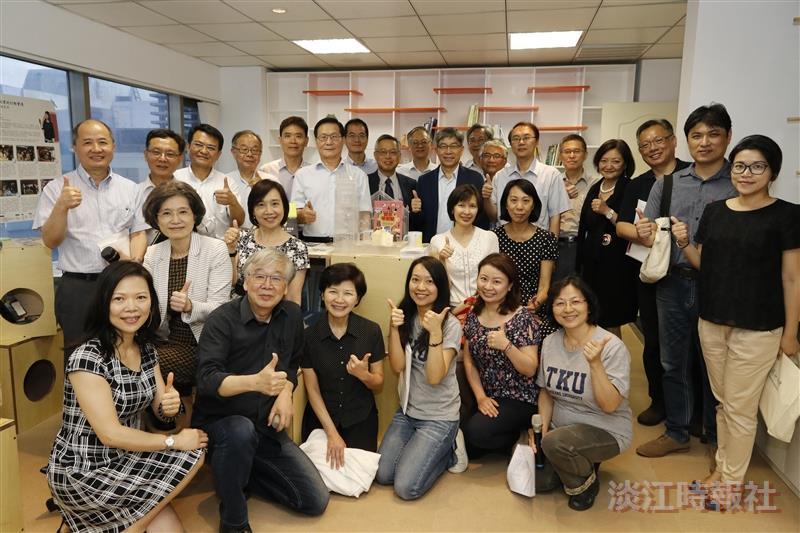 「淡江大學社會責任實踐計畫辦公室」啟用典禮