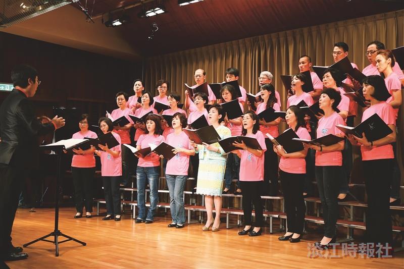 女聯會合唱團 花月夜精彩開唱