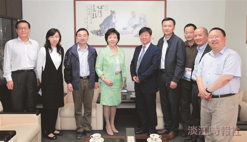 滁州學院來訪力邀攜手研討兩岸物聯網