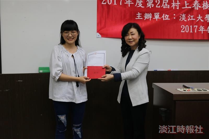 村上微電影賽 蕭任傑迷惘奪冠