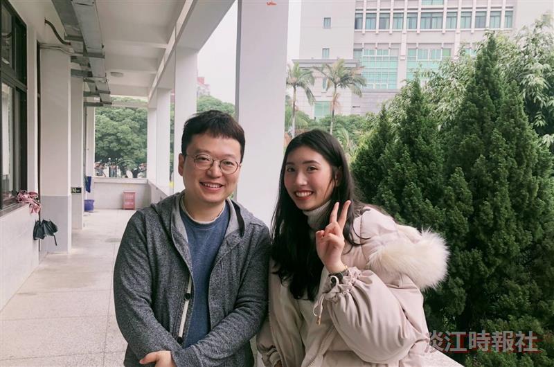 鄭詩萍在廈門大學體驗國際化