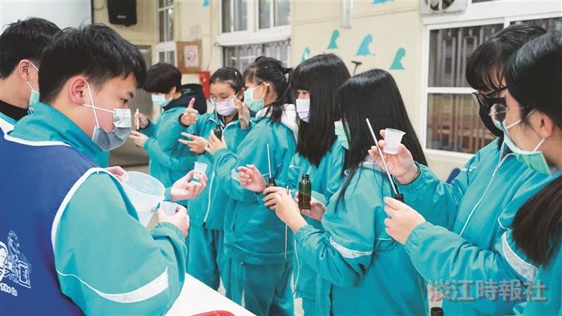 化學車遊進萬里 寓教學於防疫